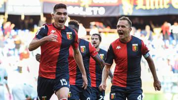 Johan Vásquez debutó con el Genoa de Italia