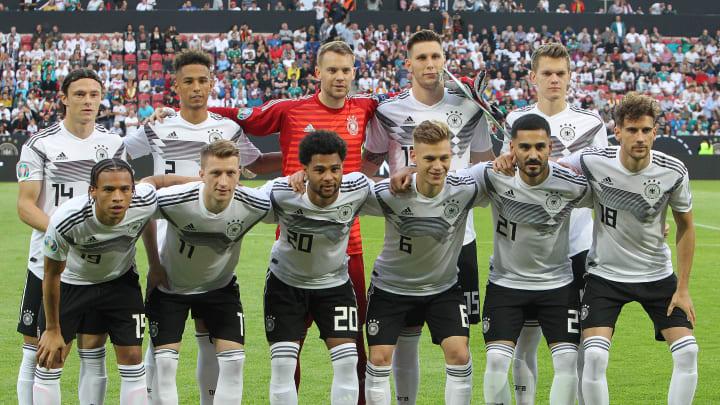 Manuel Neuer, Marco Reus & Co. gewannen im Juni 2019 gegen Estland mit 8:0