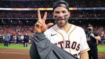 Jose Altuve is among one of the four players who are tied as co-favorites in FanDuel Sportsbook's World Series MVP odds.