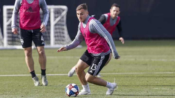Morris quickly re-established himself as a key player for the Sounders following his last ACL injury.