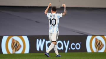 Lionel Messi is the first South American to score 80 goals in men's international football