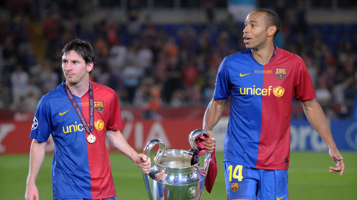 Thierry Henry reiterates that Lionel Messi was not the best player he played alongside