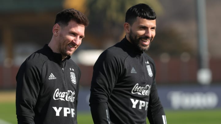 Messi and Aguero are great friends
