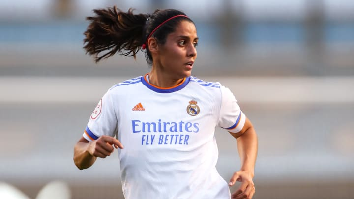Kenti Robles, jugadora del Real Madrid