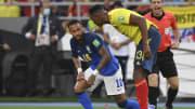 Neymar fez um jogo muito ruim contra a Colômbia