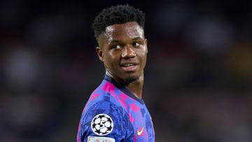 Barcelona have announced a new contract for Ansu Fati