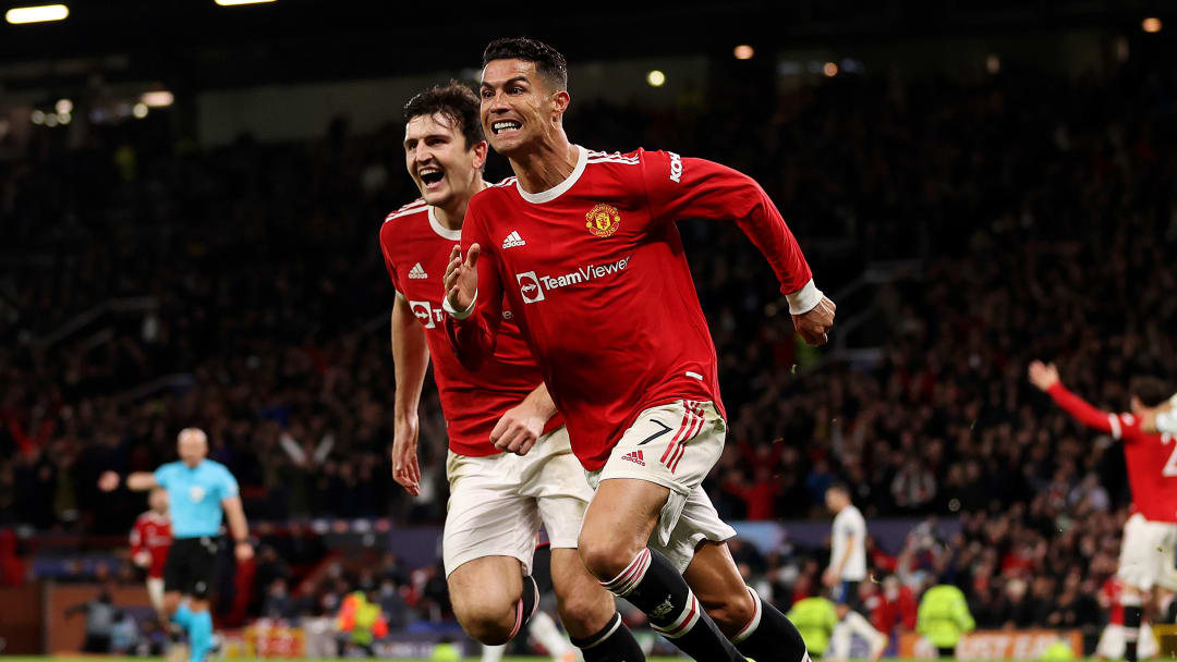 Cristiano Ronaldo scored Man Utd's late winner against Atalanta