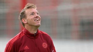 Julian Nagelsmann freut sich auf das Topspiel in Leverkusen