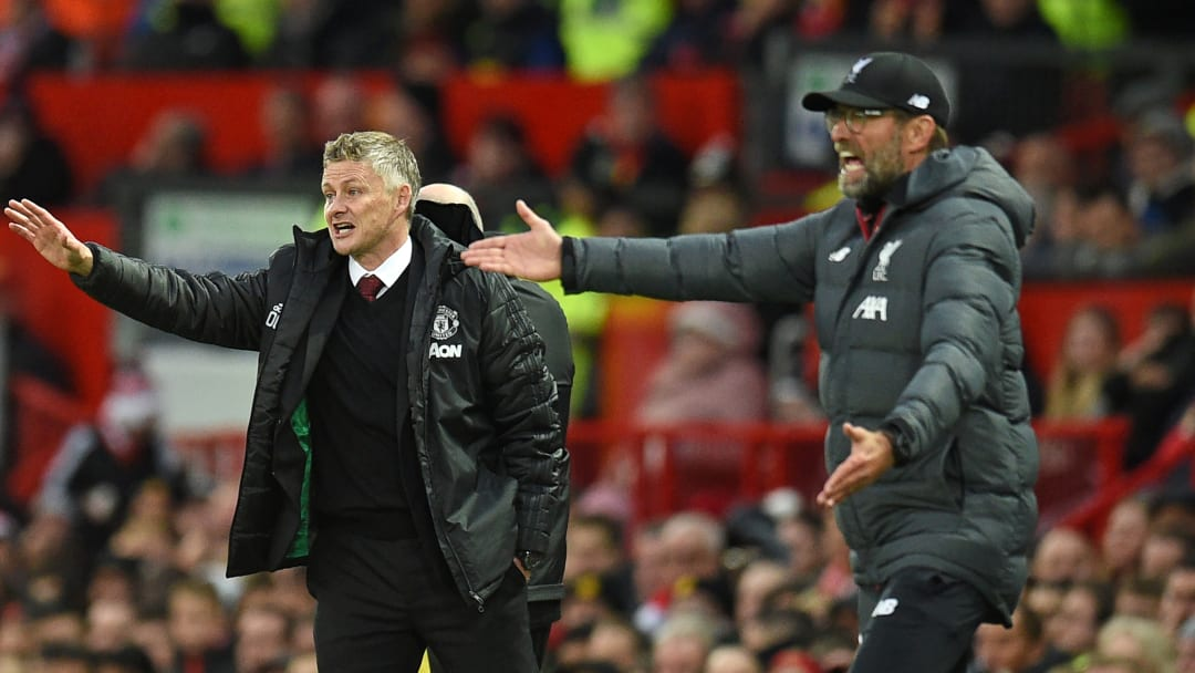 Ole Gunnar Solskjaer believes that Manchester United are not at Liverpool's level