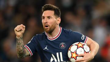 Messi grabbed a brace