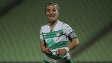 Santos Laguna v San Luis - Torneo Guard1anes 2020 Liga MX Femenil