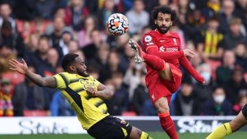 Mohamed Salah beim Torabschluss