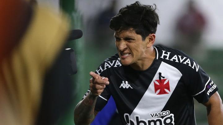 Germán Cano é o artilheiro do Vasco na temporada com 17 gols