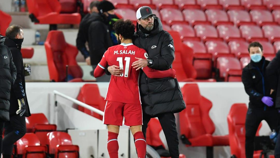 Klopp is hopeful on Salah's future