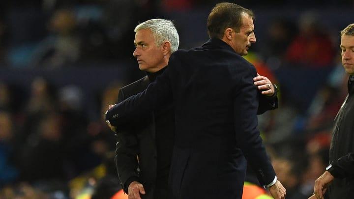 Mourinho et allegri se feront face ce dimanche