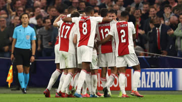 Ajax were in a rampant mood on Tuesday