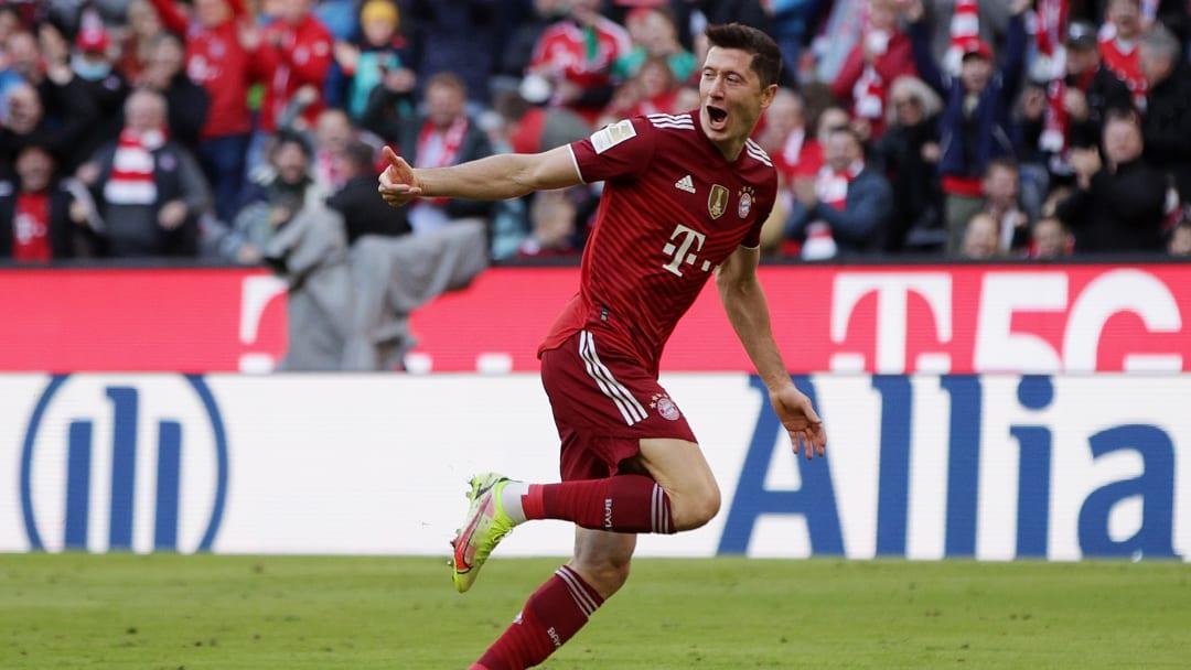 Robert Lewandowski is the best striker in the world right now