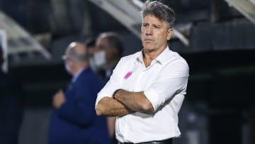 Renato Gaúcho deve utilizar trio que estava nas eliminatórias contra o Cuiabá