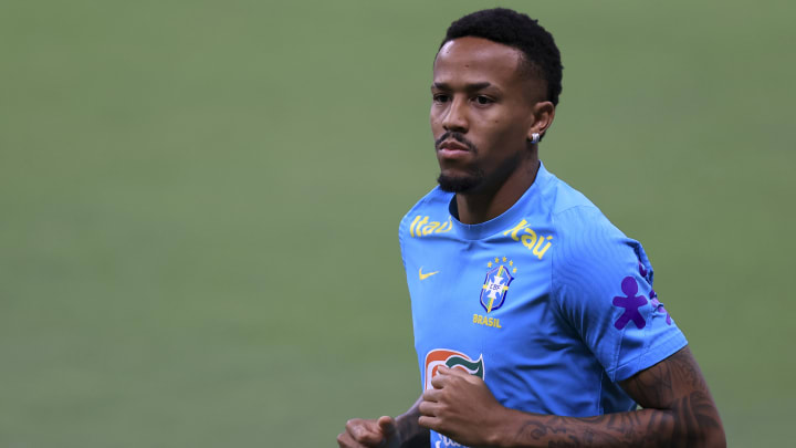Eder Militao got injured playing for Brazil in a World Cup qualifier