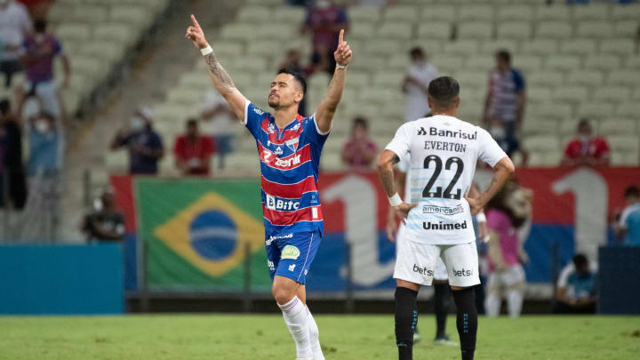 Pikachu anotou o gol da vitória do Fortaleza sobre o Grêmio
