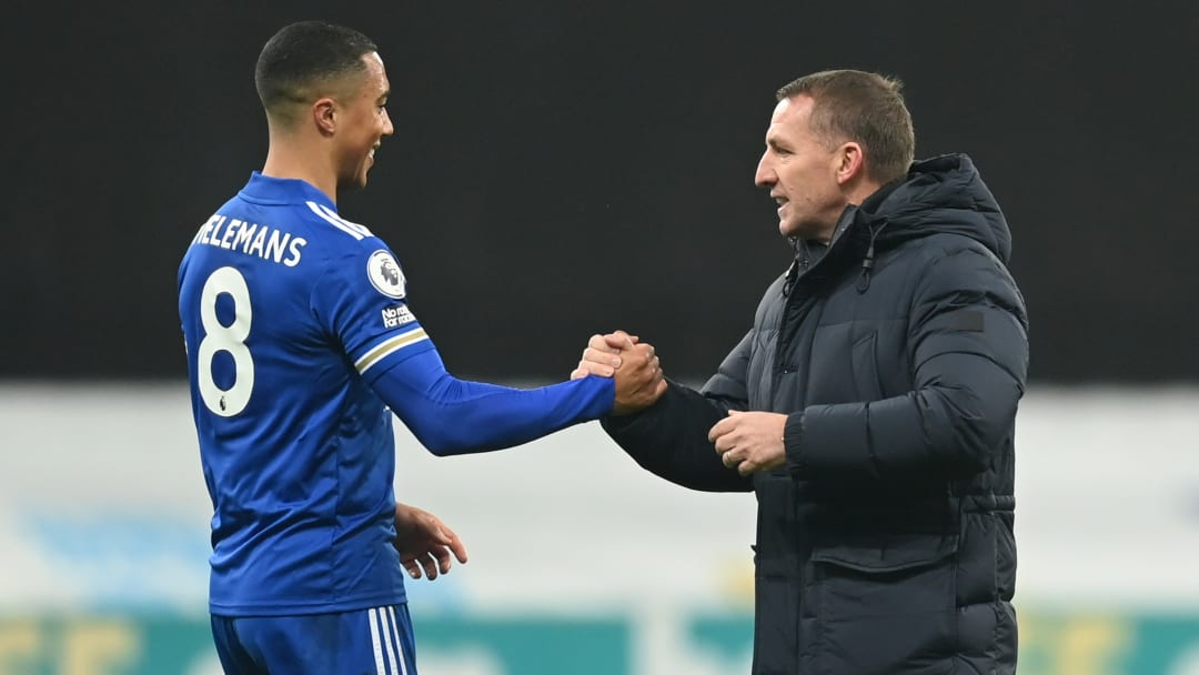 Brendan Rodgers wants to keep Youri Tielemans at Leicester for the long-term