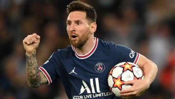 Lionel Messi a inscrit un doublé face à Leipzig.