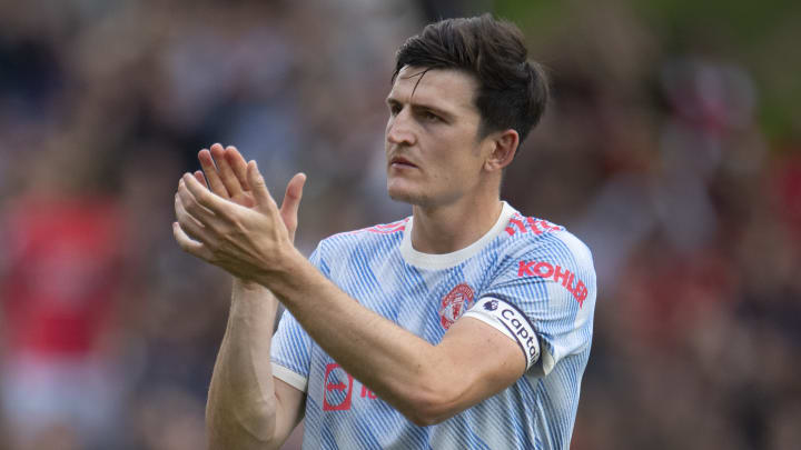 Maguire has given an update on his injury progress