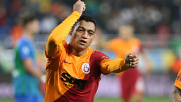 Mostafa Mohamed'in gol sevinci