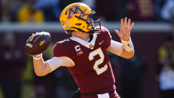 Maryland vs Minnesota prediction, odds, spread, over/under and betting trends for college football Week 8 game.