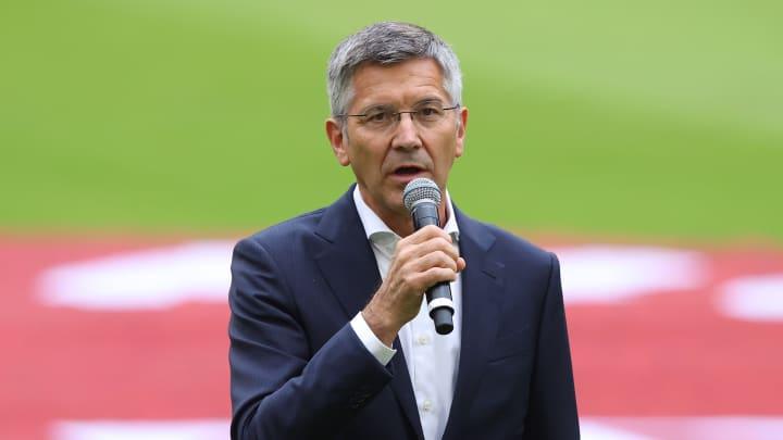 FCB-Präsident Herbert Hainer hat sich zu Wort gemeldet