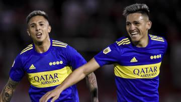 Almendra y Vázquez, los pibes que le dieron el triunfo a Boca.