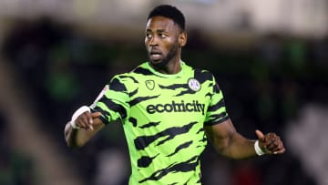 Jamille Matt was a key performer for Forest Green