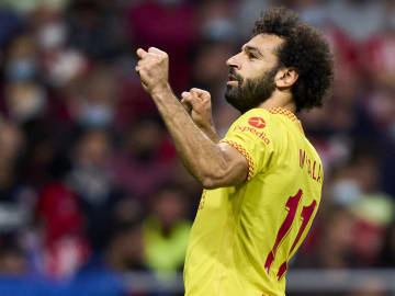 Mohamed Salah shone for Liverpool in the Champions League this week
