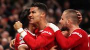 L'esultanza di Cristiano Ronaldo dopo il goal