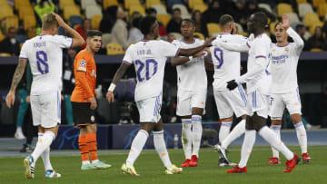 Le Real Madrid n'a laissé aucune chance au Shakhtar Donetsk (5-0).
