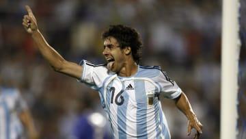 Pablo Aimar, uno de los últimos creativos que tuvo el fútbol argentino.