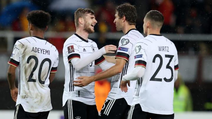Liderada por Timo Werner, Alemanha aplicou 4 a 0 na Macedônia do Norte