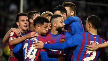 Barcelona beat Valencia in the league on Sunday night
