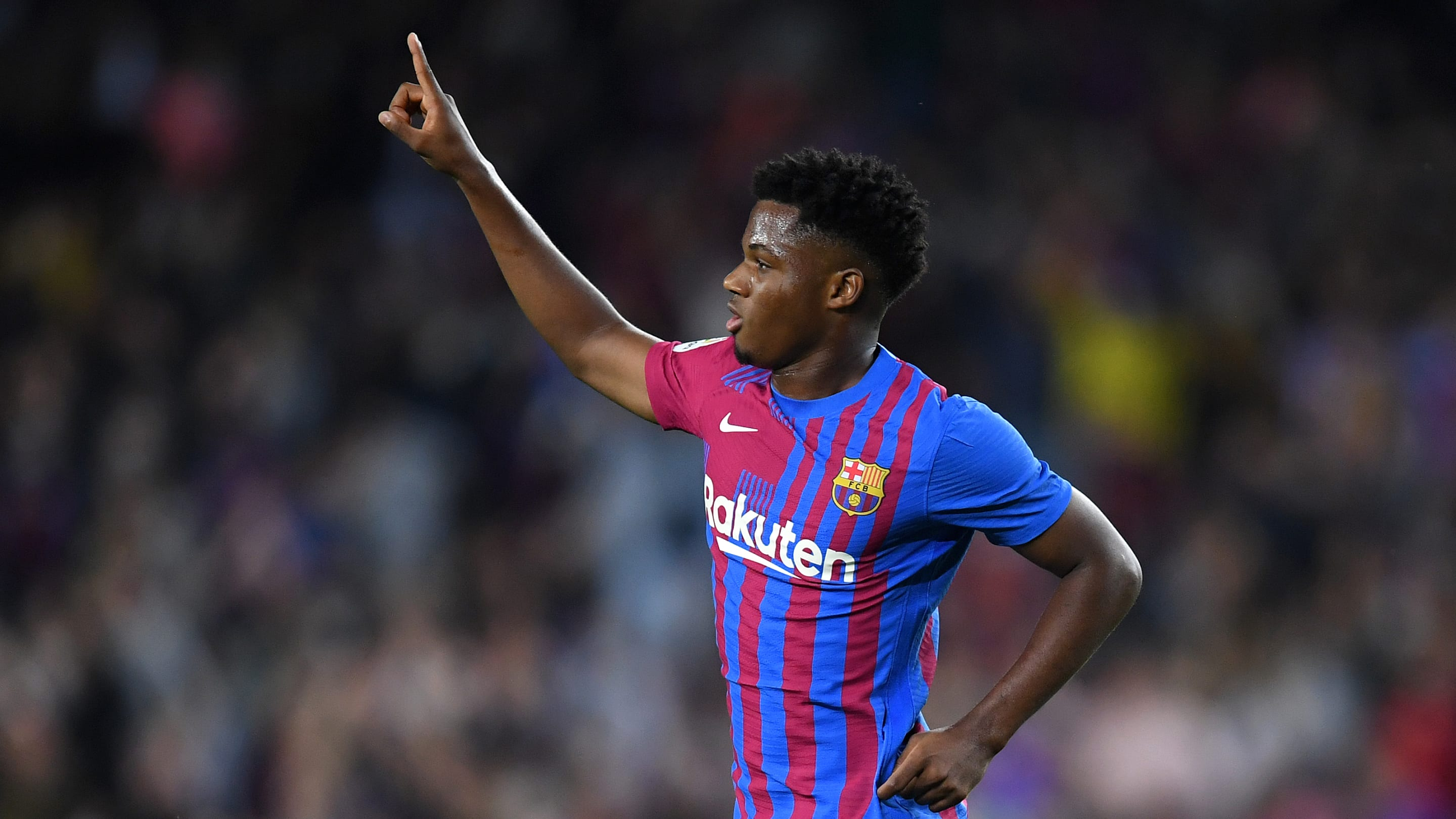 Ansu Fati carries the Barcelona torch in first start for nearly a year