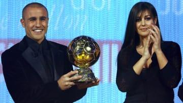 Cannavaro ganó en 2006 el Balón de Oro