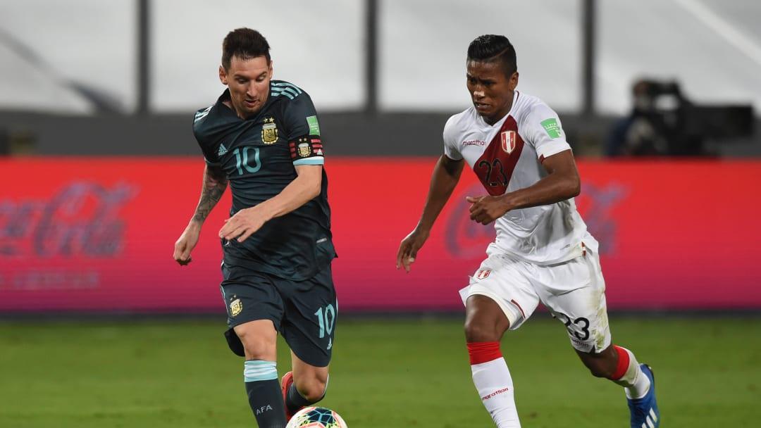 Messi ante Perú