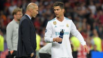 Zidane und Ronaldo kennen sich noch prächtig aus gemeinsamen Real-Zeiten