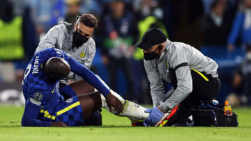 Lukaku won Chelsea a penalty but picked up an ankle injury as a result