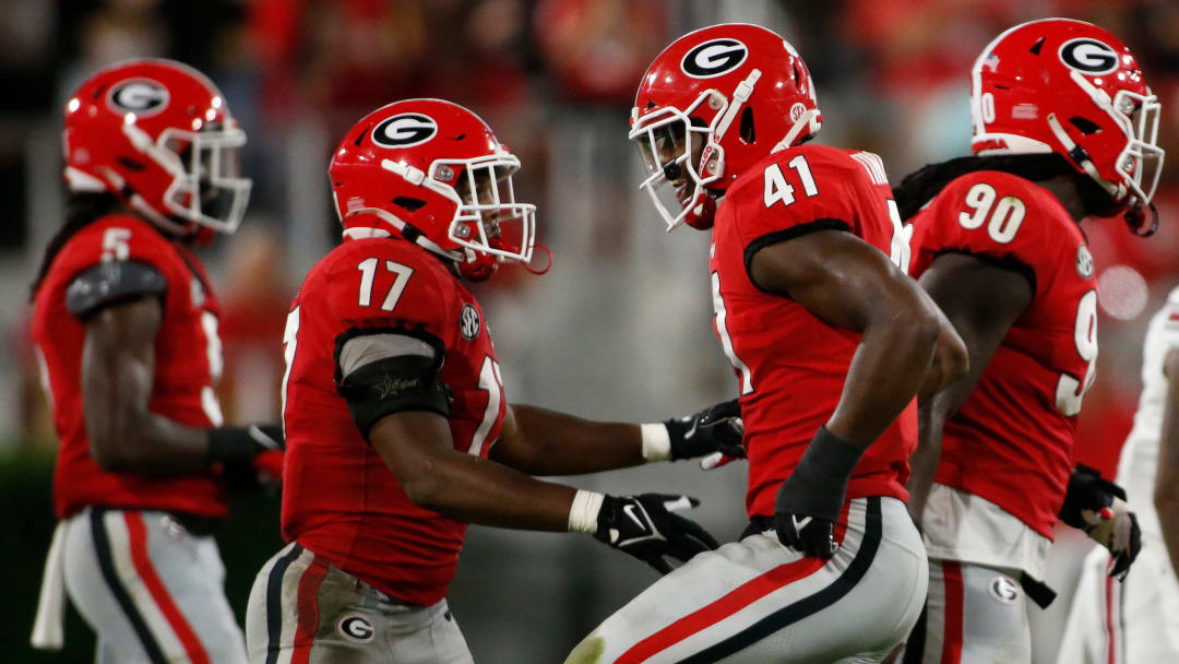 No. 1 Georgia should get a test against No. 11 Kentucky on Saturday.