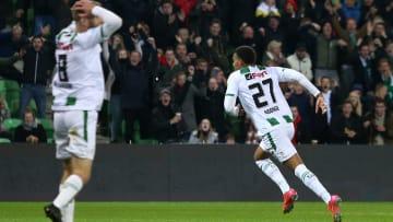 Cyril Ngonge a inscrit un but incroyable face à l'AZ Alkmaar.