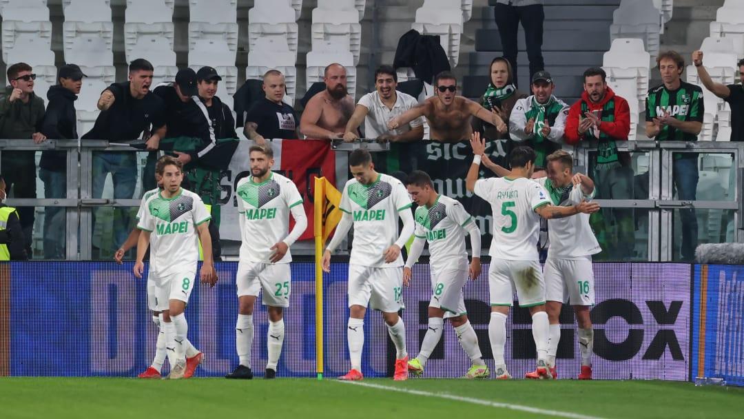 Sassuolo s'est imposé sur la pelouse de la Juventus (2-1).