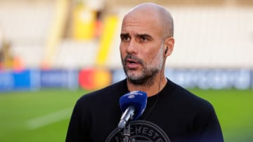 Pep Guardiola is hoping for another Man City win this weekend