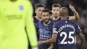 Riyad Mahrez scored Man City's fourth