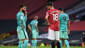 Salah ou Bruno Fernandes: quem levará a melhor no clássico deste domingo?