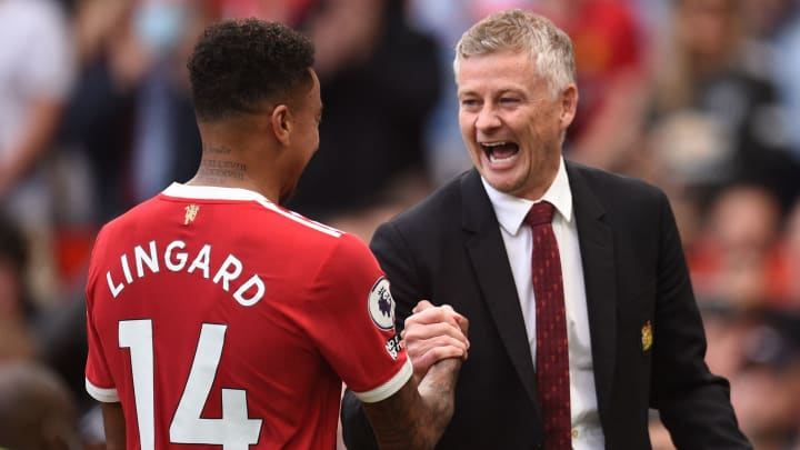 Solskjaer has given Lingard limited game time so far this season